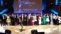 Foto de premiados