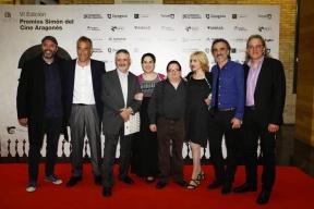 En el Photocall con parte del equipo de El Morico
